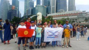 Олимпиада по ментальной арифметике в Сингапуре