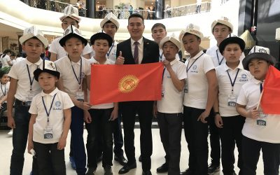 Международная олимпиада по ментальной арифметике в Узбекистане