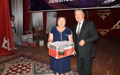 Вручение принтеров в Государственные школы Джалал-Абадской области